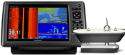 Garmin echoMAP 92sv med GT41-TH transducer