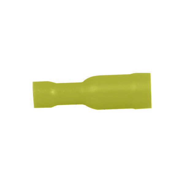 Hunstik rund gul 5.0mm 10stk