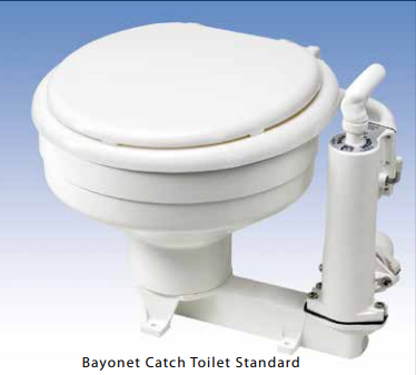 RM69 Bayonet Catch Toilet Standard