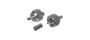 Coax stik PL 259 til RG58 6 mm/Crimpning