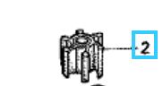 Honda BF15A 19210-ZV4-651 IMPELLER