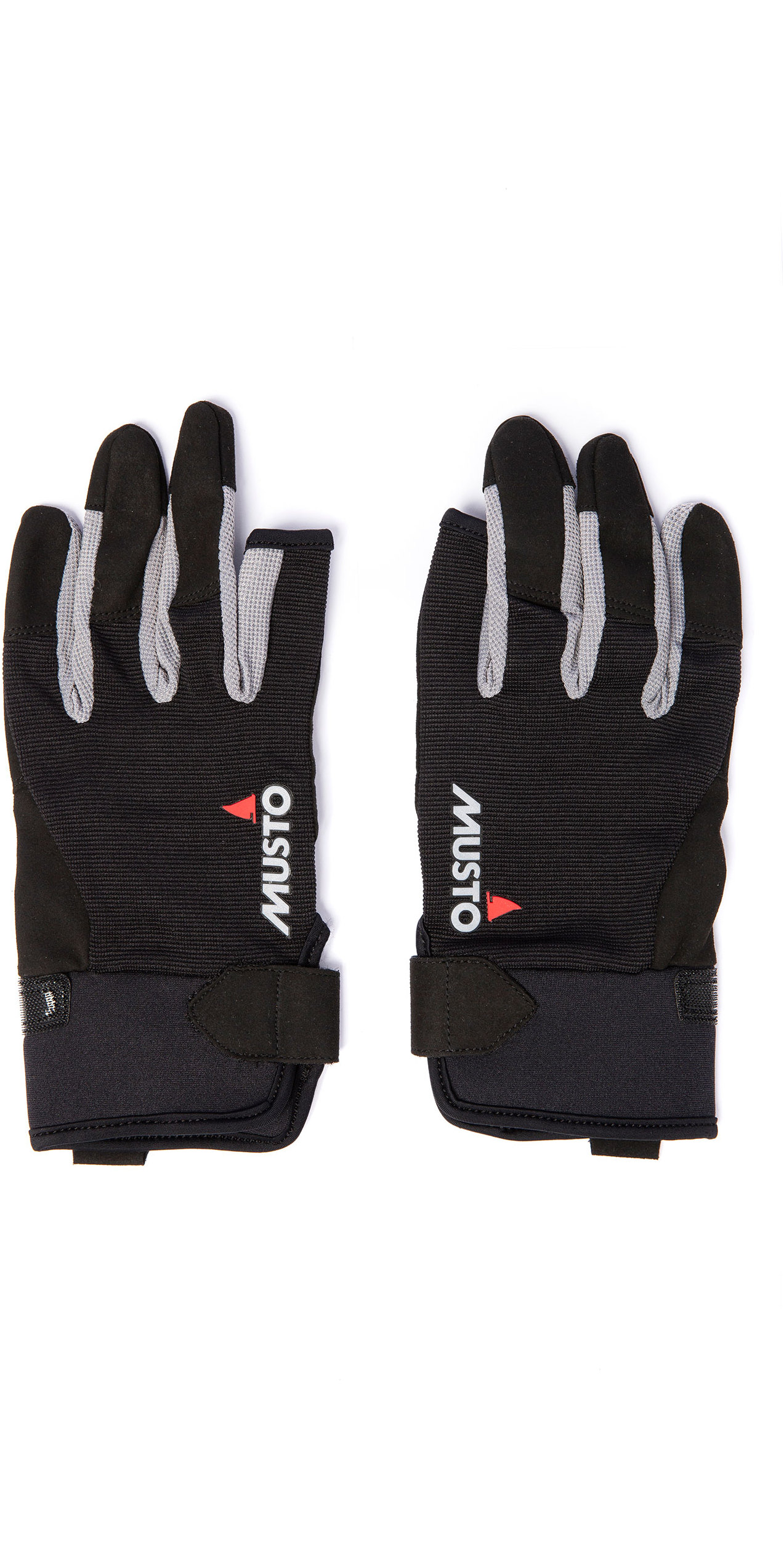 Musto ESSENTIAL LONG FINGER SAILING GLOVE XS BLACK