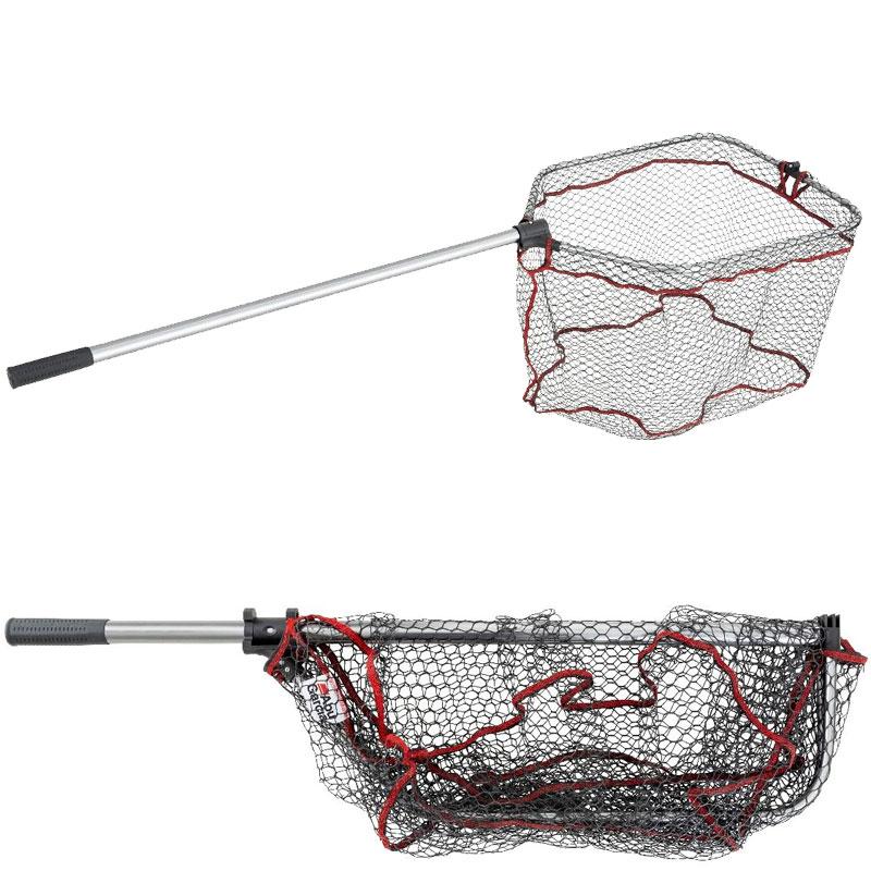 ABU foldbart gummi båd/laks net str. L