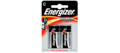 ENERGIZER POWER C 1,5 volt 2stk.