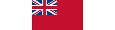 Gæste flag Red Ensign (Storbritanien) 30x45 cm