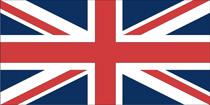 Gæste flag Union Jack 30x45 cm