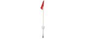 Garnbøje 2,1 m m/1 flag og refleks