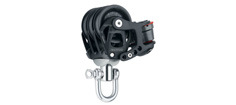 Harken Element Blok 45mm Trippel m/ svirvel/fr