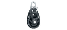 Harken Element Blok 80mm Enkelt m/ svirvel