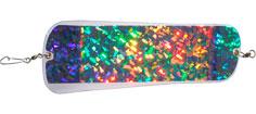 """HotSpot Flasher 11"""" Farve 160 Holografisk Silver"""