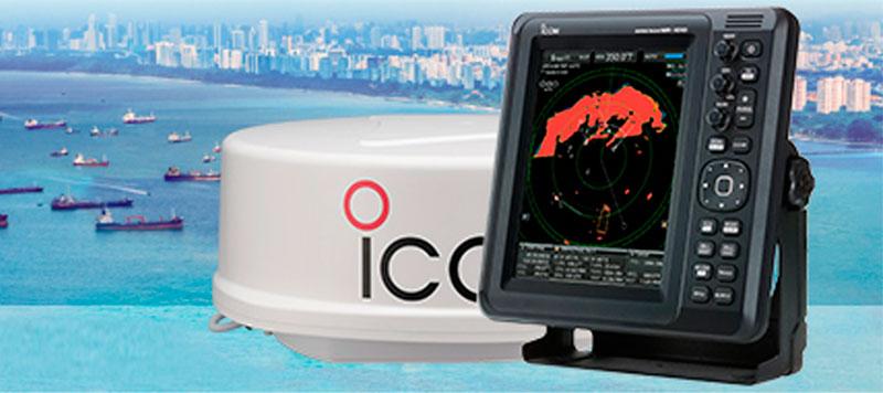 Icom MR-1010RII Radar med 10,4 tommer skærm
