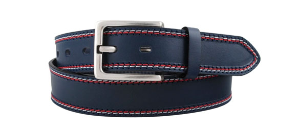 Key West Bennet Bælte Dark Navy 90 cm.