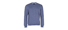 Key West Winston Denim Melange Sweatshirt Str. M