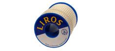 Liros standard 10m fletline hvid 4 mm.