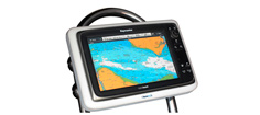 "MarinePod W12-H for 12"" Widescreen Kortplotter"