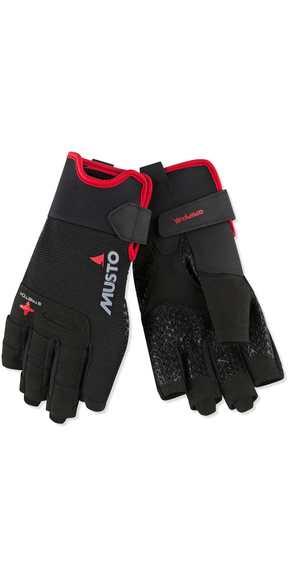 Musto ESS SAILING SF GLOVE L Black
