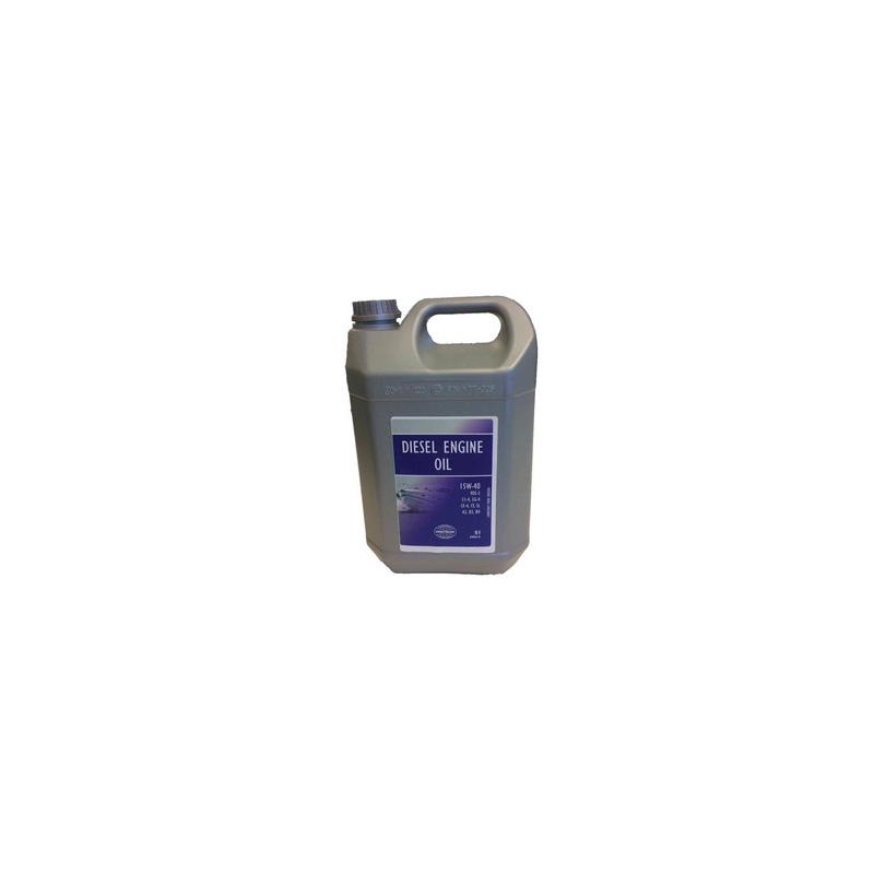 Diesel moterolie 15W-40, mineralsk, 5 Ltr