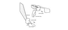 Raymarine ST50 vindkop kit