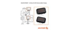 Sailor Pro Pakke em-trak B360 AIS og S300 splitter