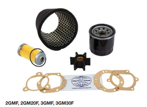 YANMAR Motor Servicesæt,2GMF, 3GMF