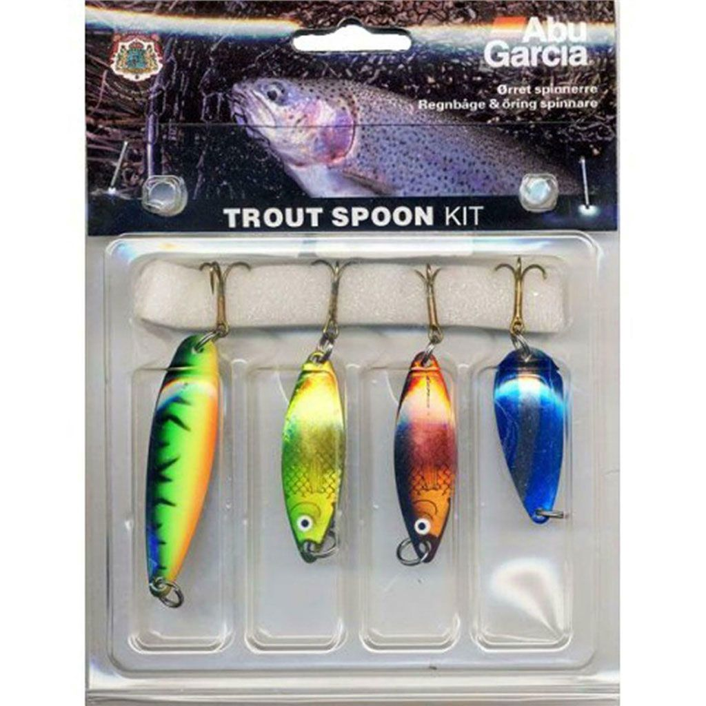 Trout - Kit Spoon 4-pack