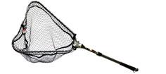 Abu fangstnet 105 cm. knudeløst teleskophåndtag