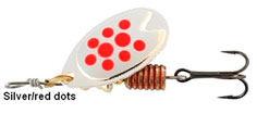 Abu Fast Attack spinner 5 gram Red Dots