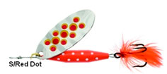 Abu Reflex spinner 7 gram S Red Dot