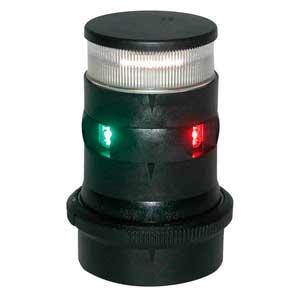 Aquasignal 34 anker/3farvet Sort 12/24V