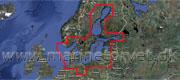 C-Map 4D Danmark og Østersøen