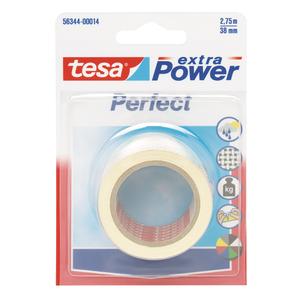 TESA Lærredstape 38mm x 2.75 HVID