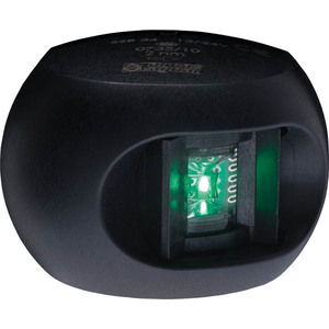 Aquasignal 34 StB-lanterne Sort 12/24V
