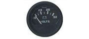 Voltmeter sort 20-32 V