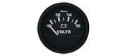 Voltmeter sort 10-16 V