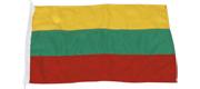 Gæste flag Litauen 20x30 cm