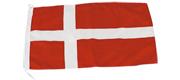 Gæste flag Danmark 20x30 cm
