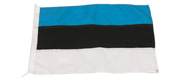 Gæste flag Estland 20x30 cm