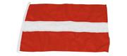 Gæste flag Letland 20x30 cm