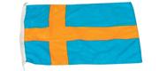 Gæste flag Sverige 20x30 cm