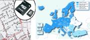Mapsource City Navigator Europa (SD-kort)