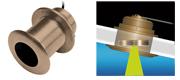 Garmin 8-pin transducer 77/200 gennemb. bronze 12°