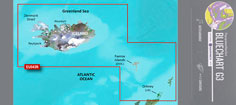 BlueChart G3, HXEU043R, Island og Færøerne