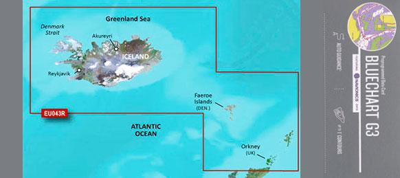 Bluechart G3 Hxeu043r Island Og Faeroerne Badudstyr Til Lavpris
