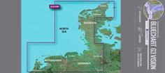 BlueChart G3 Vision VEU019R, Nordsøen