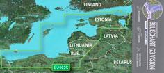 BlueChart G3 Vision VEU065R - Østersøen, Østkyst