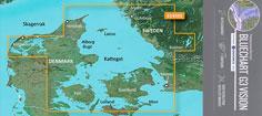 BlueChart G3 Vision VEU458S, Kattegat og øerne