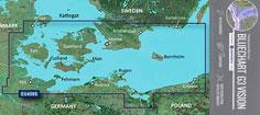 BlueChart G3 Vision VEU459S, Øerne og Bornholm