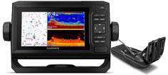 Garmin echoMAP UHD 62cv med GT24UHD-TM transducer