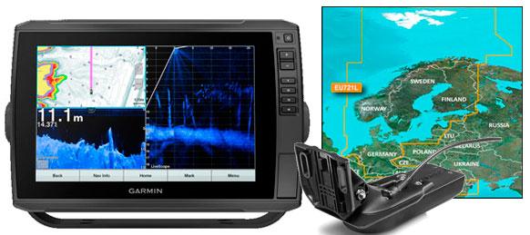 Garmin echoMAP Ultra 102sv, GT54UHD-TM, VEU721