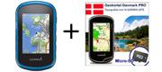 Garmin eTrex 25 Touch inkl. topografisk kortpakke